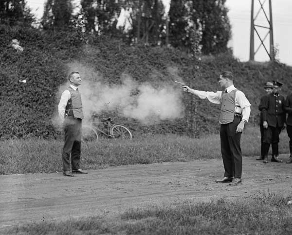 Testing-the-Bullet-Proof-Vest