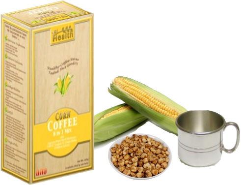 Royale Corn Coffee Looking for Corn to Be...