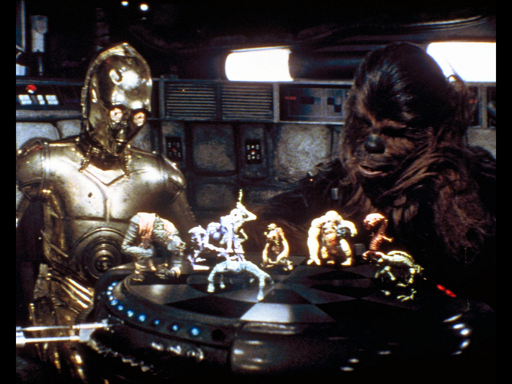 chewbacca and c3 po