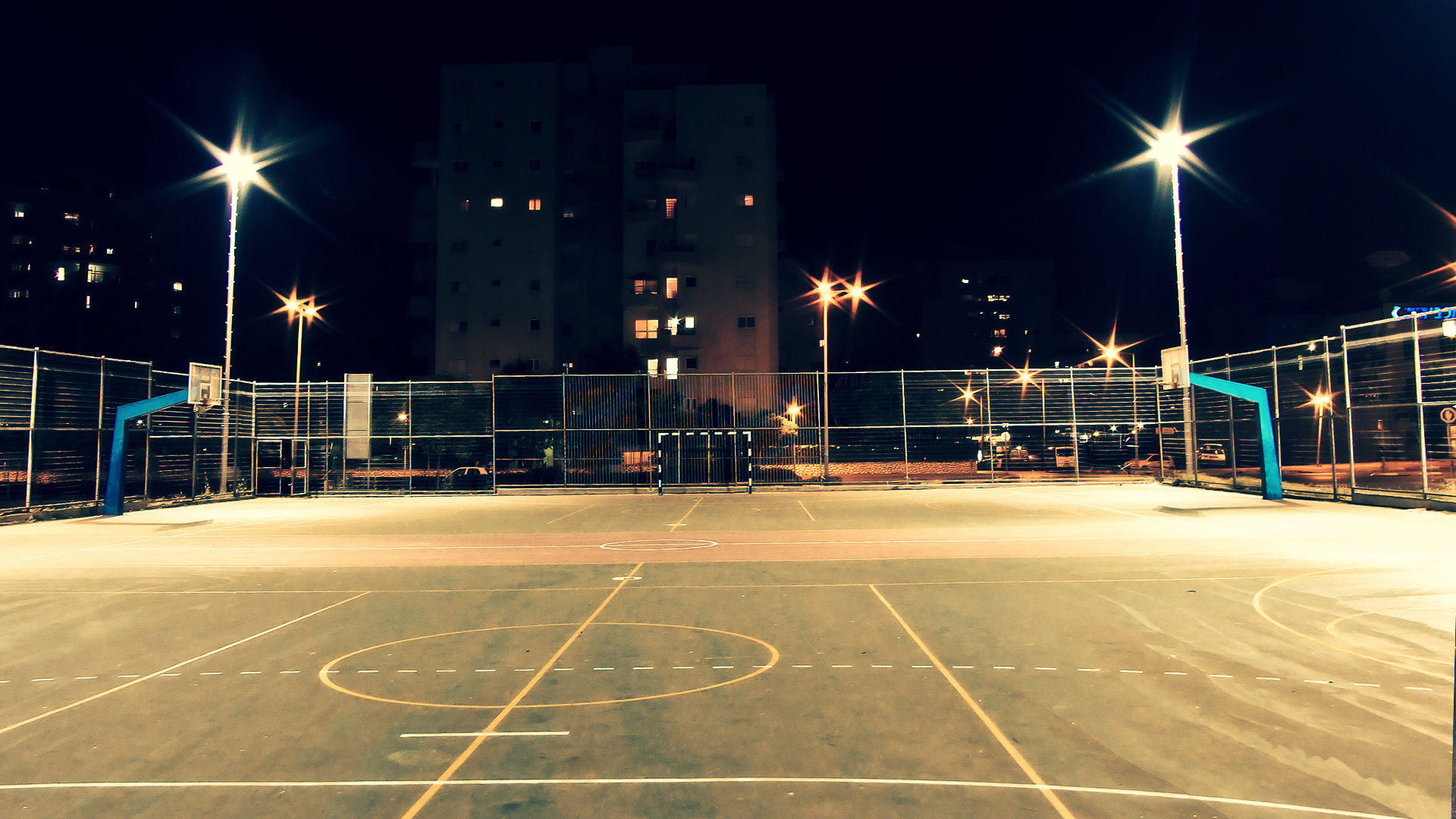 Pics photos basketball courts at night five nights at freddys view