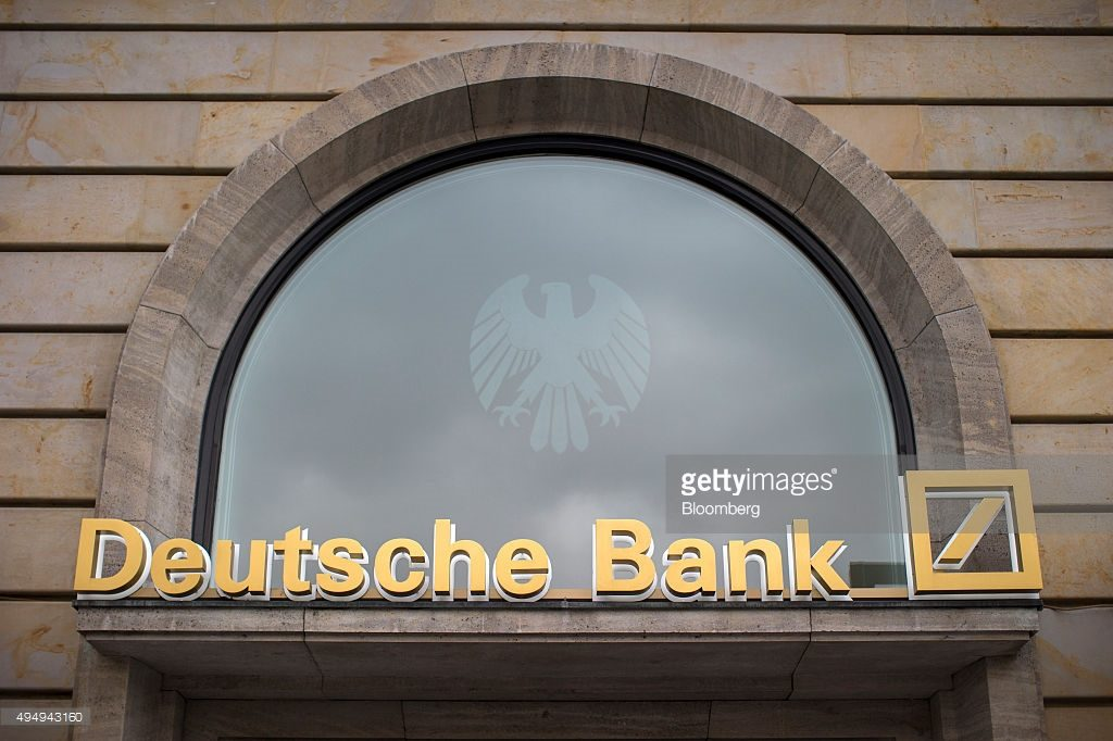 $DB DEUTSCHE BANK - HERE BE DRAGONS, NOT