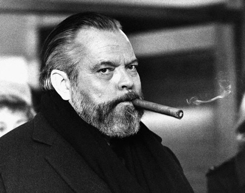 Orson Welles with Cigar