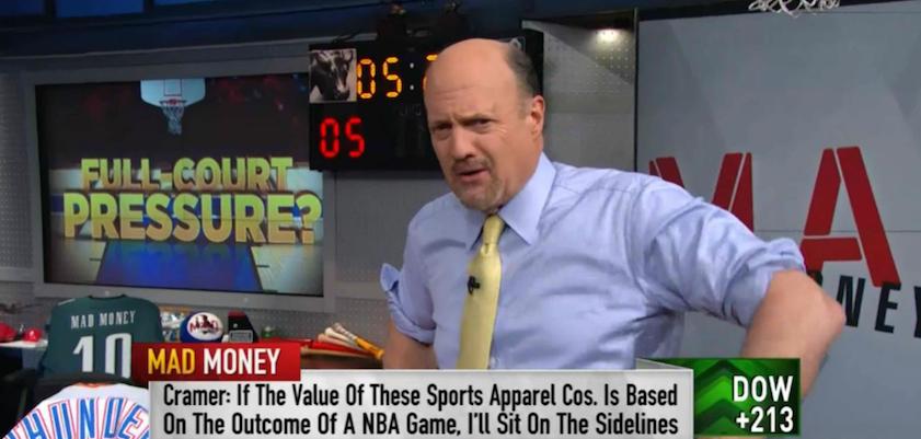 Cramer Turns Glum on the Idiotic Athletic Footwear Sector