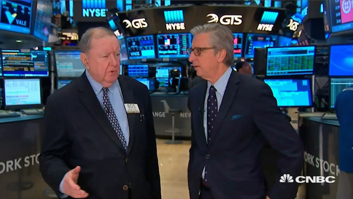 Art Cashin Tries to Make Sense of Today's Rally: 'Someone Thinks They Know Something'