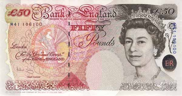 THE BRITISH POUND TUMBLES TO 1984 LEVELS, OFF BY 9.4%
