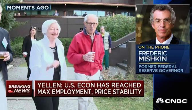 Former Fed's Mishkin Thinks Market is Underpricing November Hike