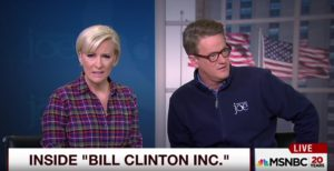 Morning Joe's Very Liberal Mika Brzezinski Disgusted by the Clinton Foundation's Scandals
