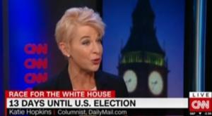 DailyMail Journalist, Katie Hopkins, Lays into CNN Host Over Media Bias