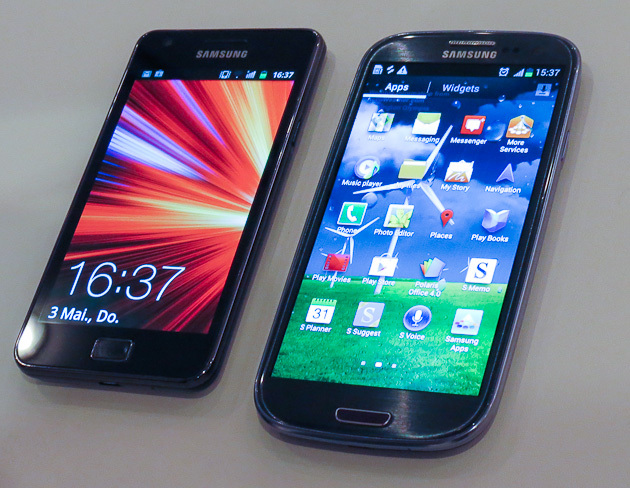 Samsung-Galaxy-S3 VS Samsung-Galaxy-S2