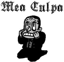 Image result for mea culpa