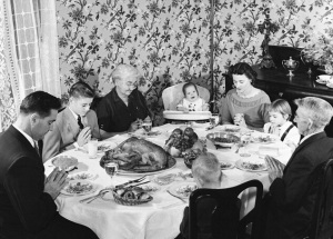 Thanksgiving With White Families
