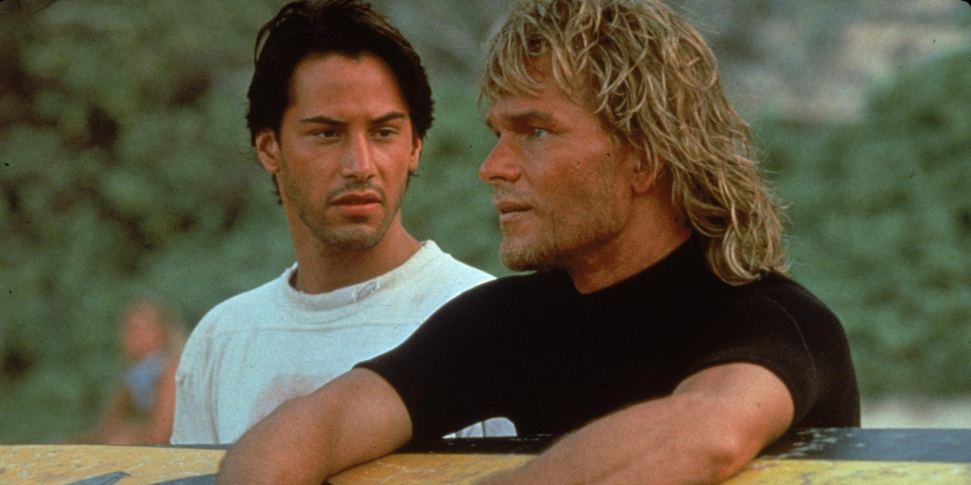 Reeves & Swayze In 'Point Break'