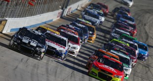 during the NASCAR Sprint Cup Series AAA 400 at Dover International Speedway on September 29, 2013 in Dover, Delaware.