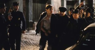 """French police arrests Frank Abagnale in the Steven Spielberg movie """"Catch Me If You Can"""""""