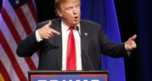 Republican presidential candidate Donald Trump speaks about Army Sgt. Bowe Bergdahl at a rally Monday, Dec. 14, 2015, in Las Vegas. (AP Photo/John Locher)