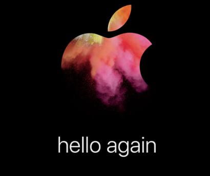 Hello Again: Apple's October 2016 Mac event