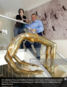 heather-tony-podesta-arch-of-hysteria-art-getty