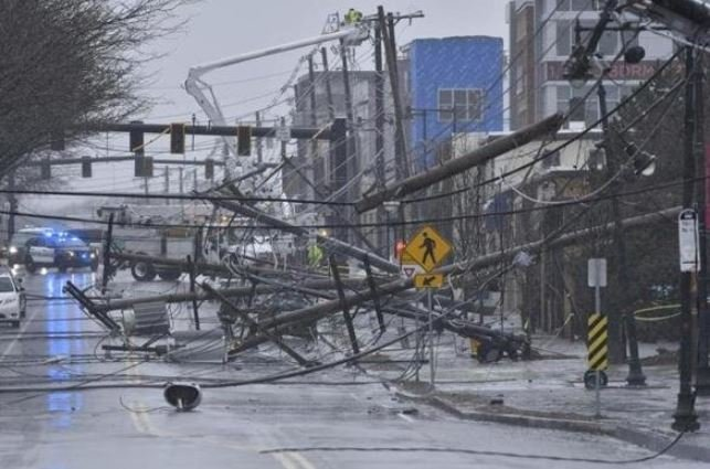 Nor'Easter Death Toll Reaches 9; National Guard Deployed ...