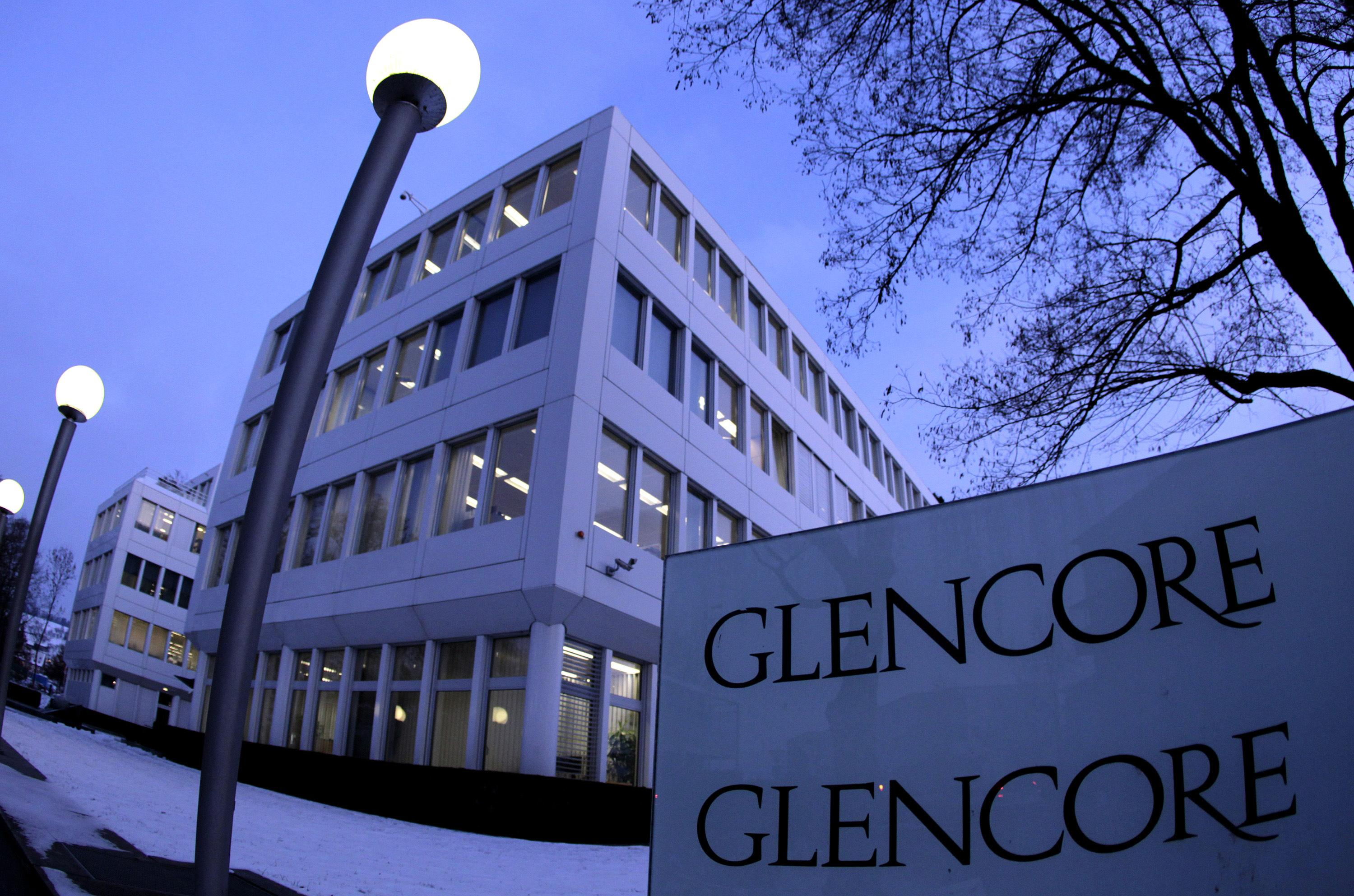 Glencore stock options