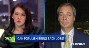 CNBC Shills Attempt to Derail the Farage Train, But Fail Miserably