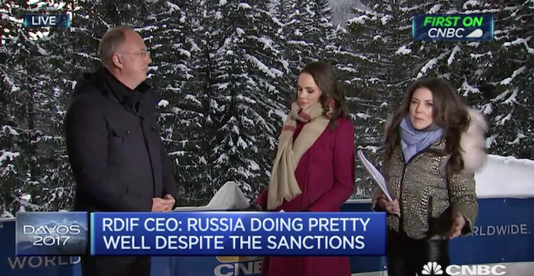Head of Russia's Sovereign Wealth Fund Appreciates the 'Professionalism' of Incoming Trump Administration