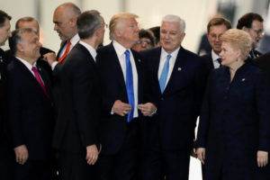 AMERICA FIRST: Trump Pushes Montenegro PM Out of the Way
