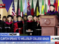 SHE'S BACK: Hillary Adorned in Cap and Gown, Tells College Grads Trump's Budget is a Con and Cruel