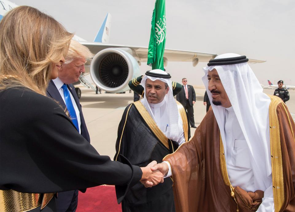 trump 2 - Trump Inks Largest Arms Deal in U.S. History with Country He Said Funded ISIS
