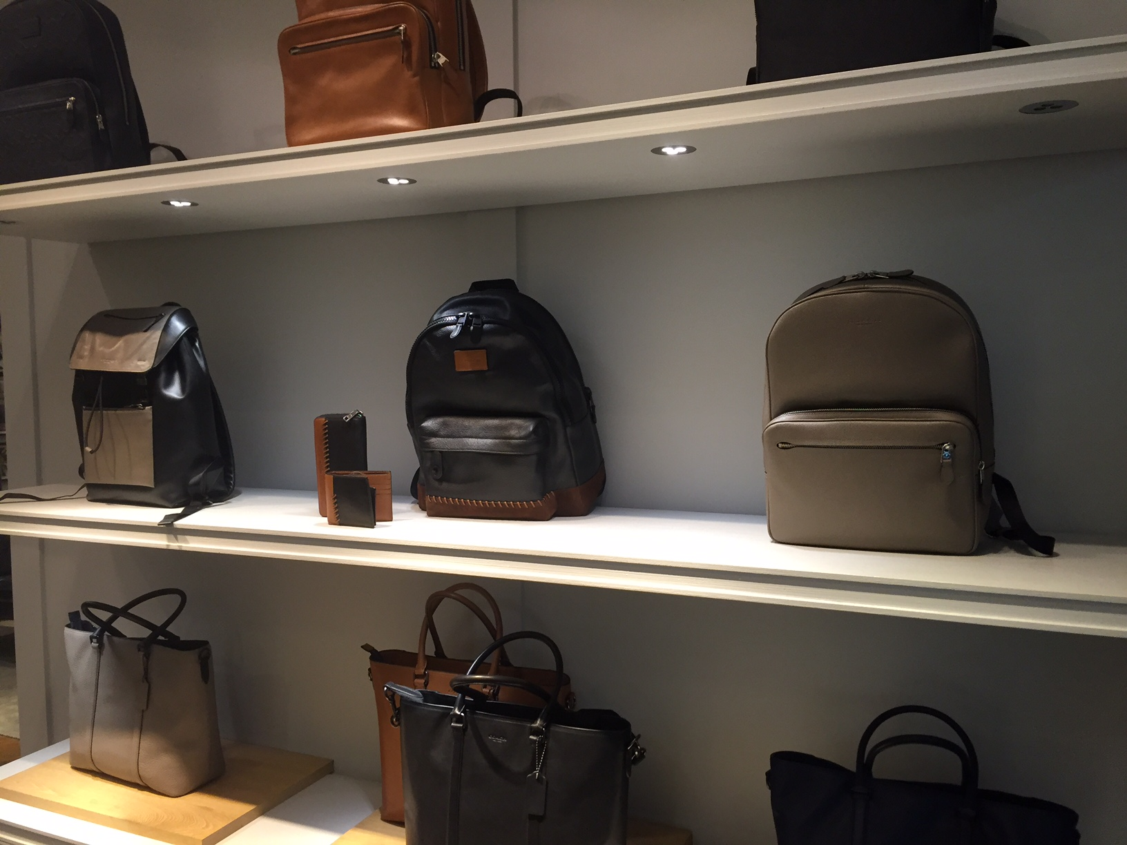 Bags. Muted.