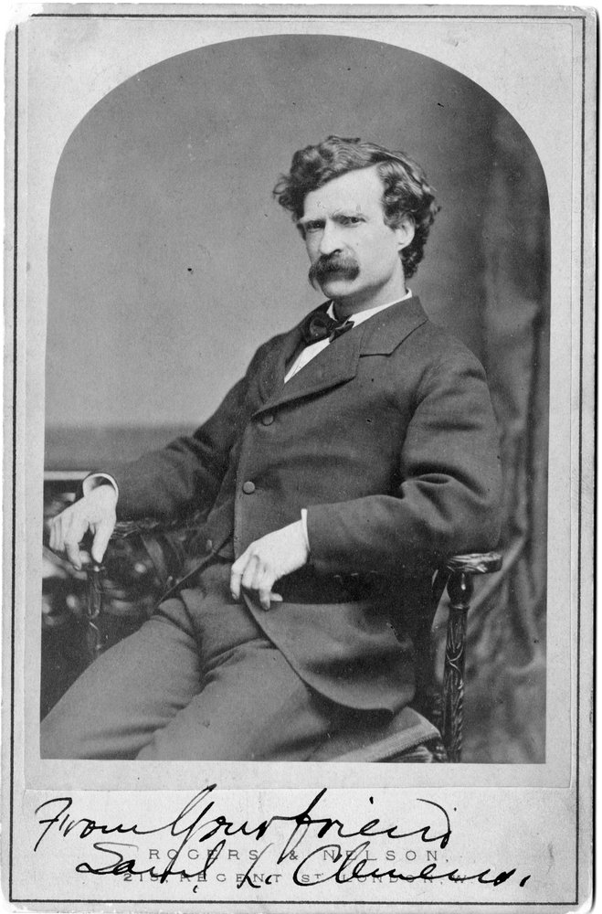 You did not fuck with Sam Clemens.
