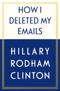 Clinton Releases Title Of New Book. Internet  Explodes.