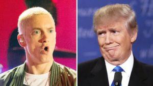 Prepare For A Trump Vs. Eminem Rap Battle