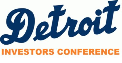 In Two Weeks Time RAUL Will Host A Free Investors Conference in Downtown Detroit