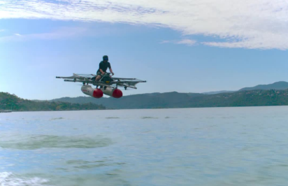 Google's 'Flying Car' makes its debut; Enter Kitty Hawk