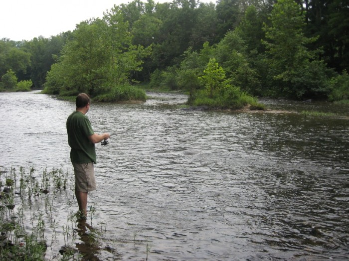 Fishing the Cacapon