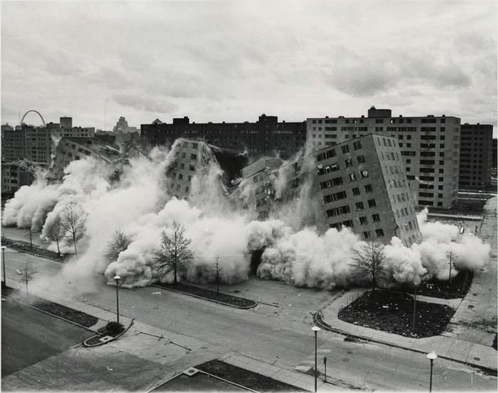 Pruitt-Igoe-collapses