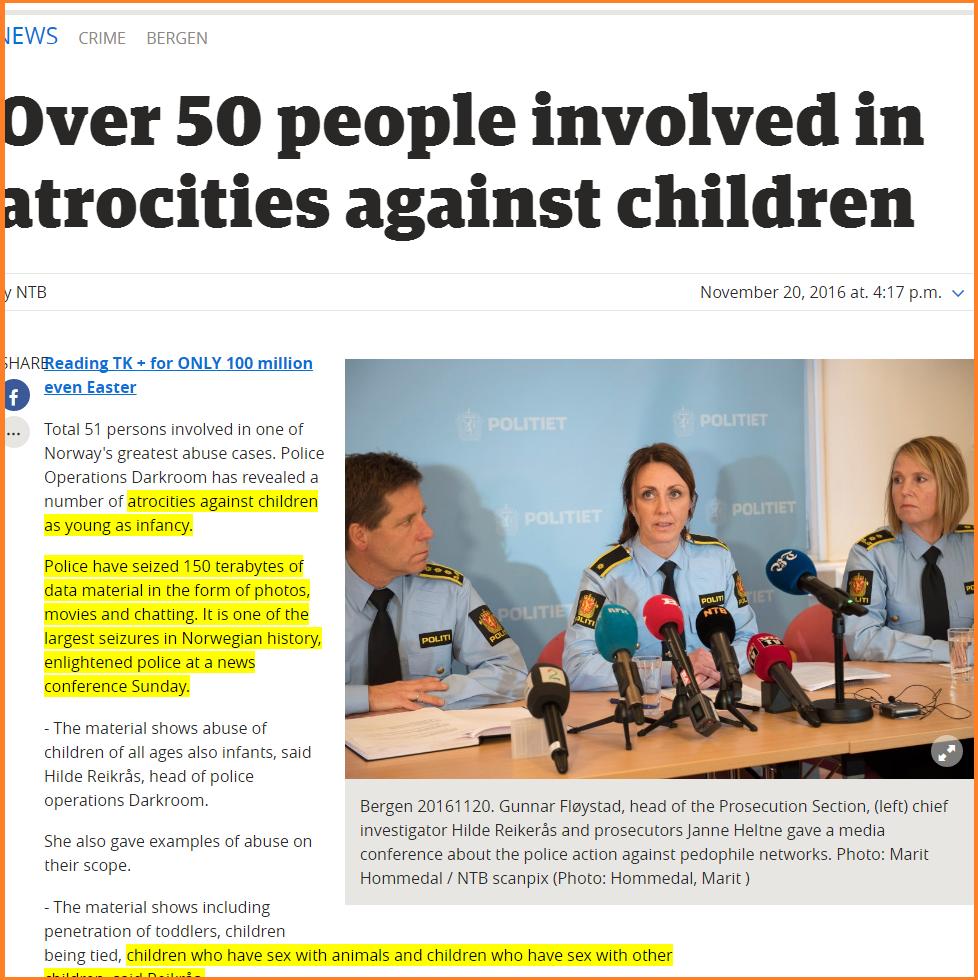 British Pedophile Ring