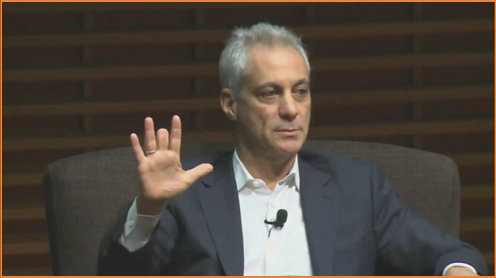 "Rahm Emanuel Tells Democrats To Stop Crying, Bend Over For ""Long Haul"" – Then Offers Subversive Advice On Dirty Politics – Zero Hedge"
