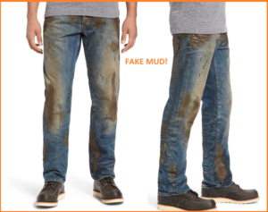 Nordstrom Selling Fake-Mud Jeans For $425