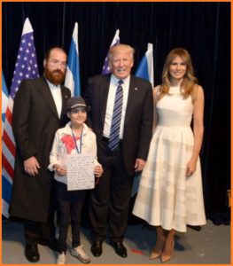 Trump Visits 14 Year Old Cancer Patient In Israel - MSM Refuses To Cover