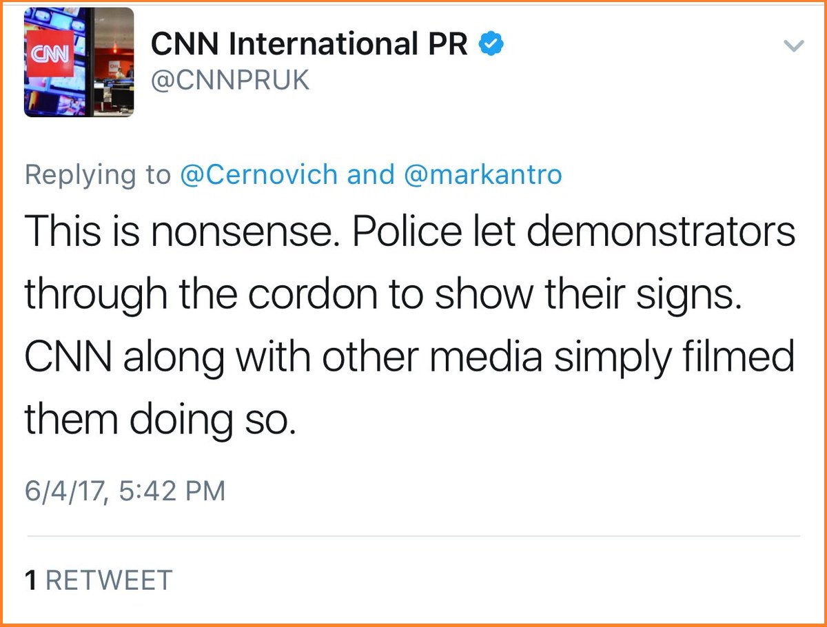 Was Cnn Caught Staging Fake News Network Trots Out Anti