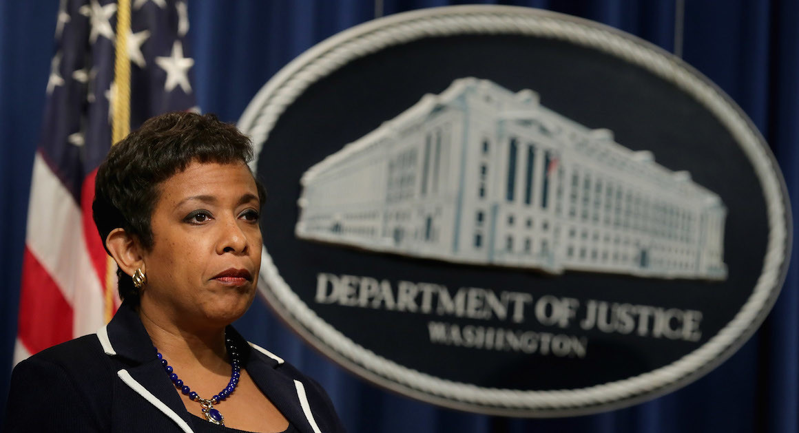 Loretta Lynch Communicated With DOJ Officials Using Grandmother's Name As Alias