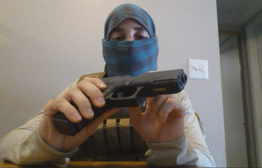 Meet Arizona Antifa Chapter Member Zoltan And His 'Clock 19'
